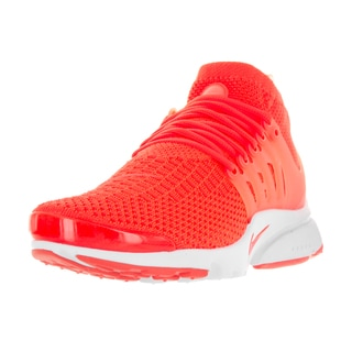 Nike Men's Air Presto Flyknit Ultra Ttl Crmsn/Ttl Crmsn White Pnk Running Shoe