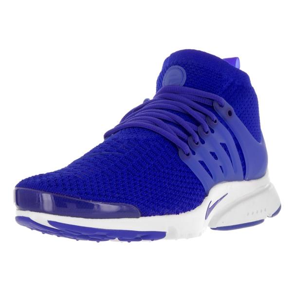 ed5def222e76f Shop Nike Men's Air Presto Flyknit Ultra Rcr Bl/Bl/White/ttl Crmsn ...