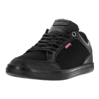 Levi's Men's Aart Micro Perf Black Mono Chrome Casual Shoe