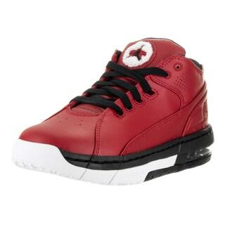 Nike Jordan Kid's Ol'School Low Bg Gym Red/Black/White Leather Basketball Shoes