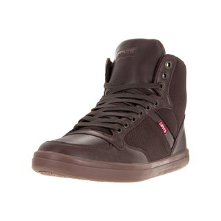 Levi's Men's Wesley Hi Micro Perf Brown Casual Shoe