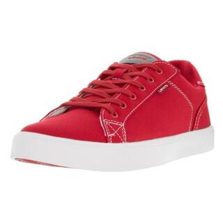 Levi's Men's Corey Canvas II Red Casual Shoe