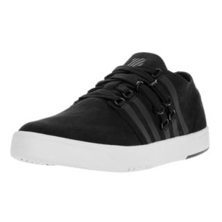K-Swiss Men's D R Cinch Lo Black/White Casual Shoe