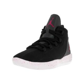 Nike Kid's Jordan Reveal Black/White Plastic Basketball Shoes