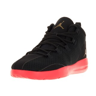 Nike Jordan Kids Jordan Reveal Bp Black/Metallic Gold Coin/Infrared 23 Basketball Shoes