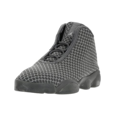 Nike Jordan Kids Jordan Horizon BG Wolf Grey/White/Dark Grey Basketball Shoes
