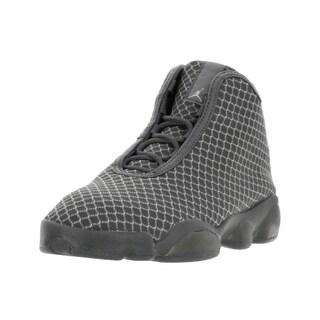 Nike Jordan Kids Jordan Horizon BG Wolf Grey/White/Dark Grey Basketball Shoes