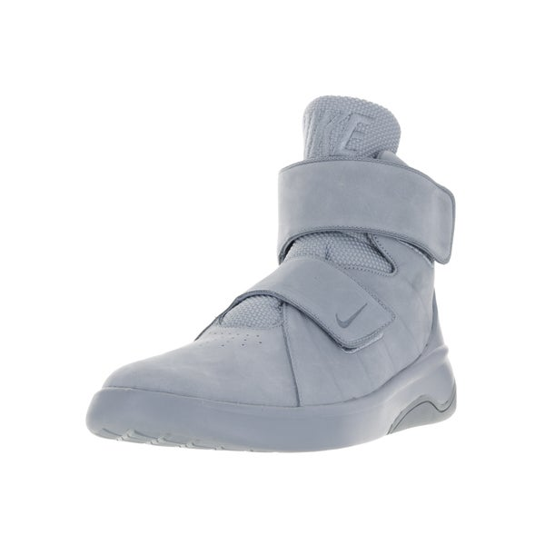 cd4e9986b72c Shop Nike Men s Marxman Prm Blue Grey Blue Grey Blue Grey Basketball ...