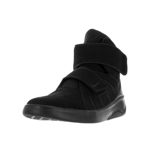 Shop Nike Men's Marxman Prm BlackBlack Black Basketball