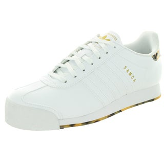 Adidas Men's Samoa Originals White Leather Casual Shoes