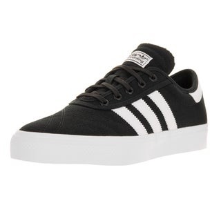 Adidas Men's Adi-Ease Premiere Black/White/Gum Textile Skate Shoe