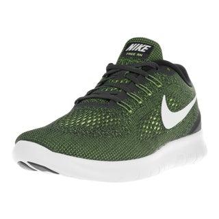 Nike Men's Free Rn Anthracite/Off White Volt Blk Running Shoe