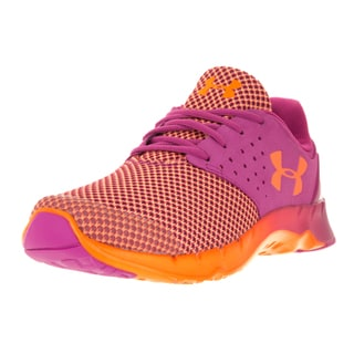 Under Armour Kids' GGS Flow Pink and Orange Textile Running Shoes