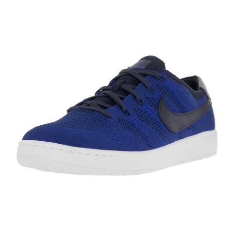 huge discount 05ce8 d0a2e Nike Men s Tennis Classic Ultra Flyknit Cllg Navy Cllg Nvy Rcr Bl Wht Tennis  Shoe