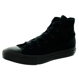 Converse Kids Chuck Taylor All Star Sp Hi Black Monochrome Canvas Youth Basketball Shoe