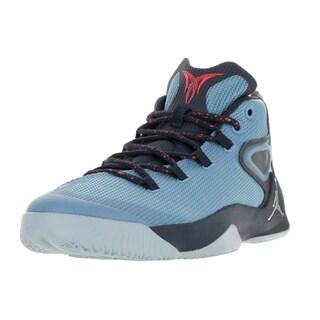 Nike Jordan Men's Jordan Melo M12 Unvrsty Bl/Mtllc Slvr/Mdnght N Basketball Shoe