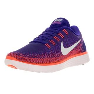 Nike Men's Free Rn Distance Cnrd/Off Wht/Hypr Grp/Ttl Crm Running Shoe