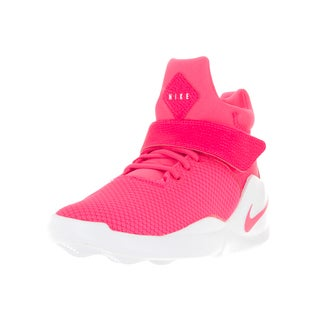 Nike Kids' Kwazi (GS) Hyper Pink/Hyper Pink/White Basketball Shoes