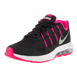 Nike Kids Air Max Dynasty (GS) Black/Metallic Silvr Hyper Pink Wolf Grey Running Shoes