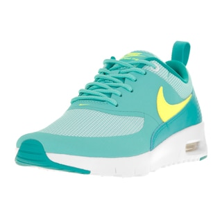 Nike Kids Air Max Thea Green Synthetic Mesh Running Shoes