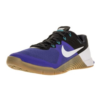 Nike Men's Metcon 2 Rcr Bl/Vvd Orng/Blk/Gm Md Brwn Training Shoe