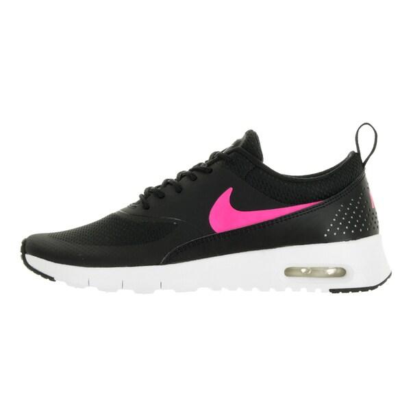 Shop Nike Kids' Air Max Thea Black