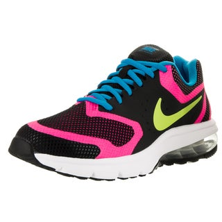 Nike Kids Air Max Premiere Run (GS) Black/Volt/Pink Pow/Photo Blue Running Shoe