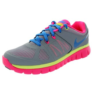 Nike Kids Flex Multicolored Mesh Running Shoe