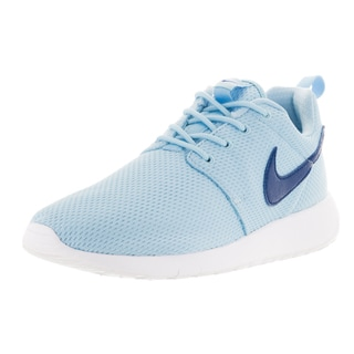Nike Kid's Roshe One GS Deep Royal Blue/White Mesh Running Shoes