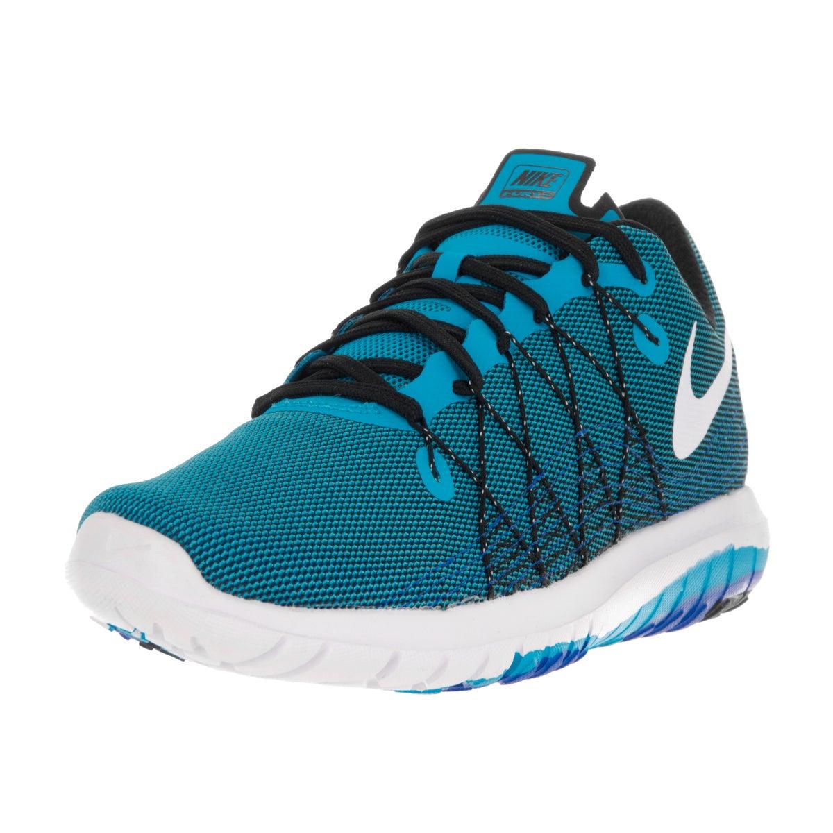 Nike Men's Flex Fury 2 Blue Glow/White Black Rcr Blue Run...