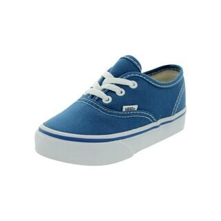 Vans Authentic Blue and White Canvas Infants' Shoe
