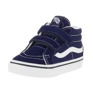 Vans Toddlers Sk8-Mid Reissue V Patriot Blue/True White Skate Shoe