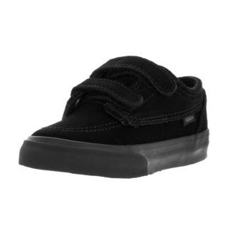 Vans Toddlers' Brigata V Black Suede Skate Shoes