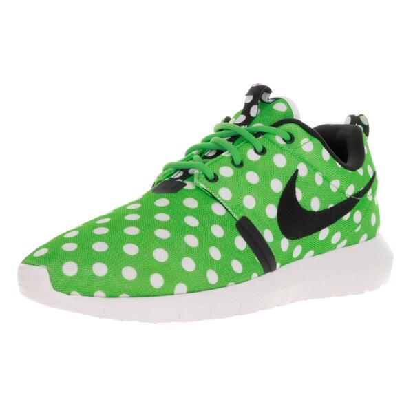 check out 2de6b b1afe Nike Men  x27 s Roshe NM QS Green Strike Black White Running