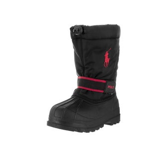 Polo Ralph Lauren Toddlers' Black Nylon Whistler Boot
