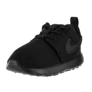 Nike Toddlers' Roshe One (TDV) Black Fabric Running Shoe