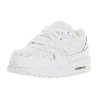 Nike Toddlers Air Max 1 White/White Running Shoe