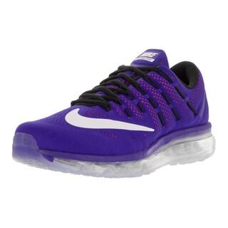 Nike Men's Air Max 2016 Concord/White/Ttl Crimson/Blk Running Shoe