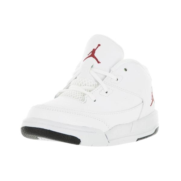 a1807fd3bc6e Shop Nike Jordan Toddlers  Jordan Flight Origin 3 White