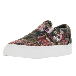 Vans Toddlers' Classic Slip-on Moody Floral Multicolor Canvas Skate Shoes