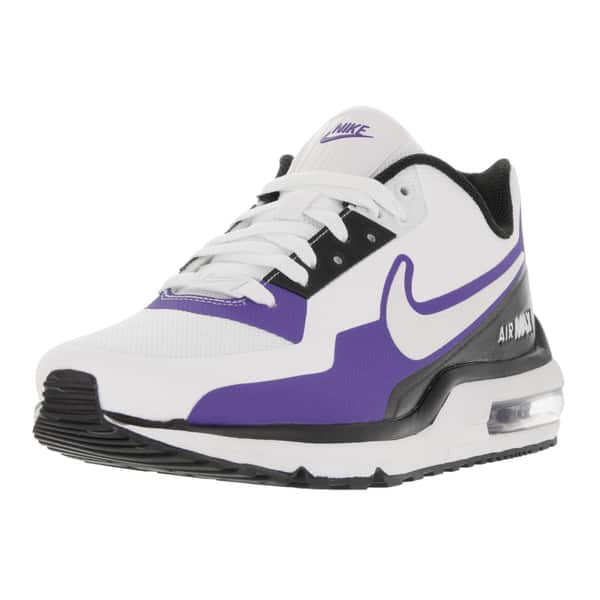 timeless design eac13 12b0e Shop Nike Men's Air Max LTD 3 Mod White/White/Black/Prsn Violet ...