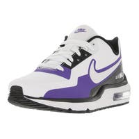 Nike Men's Air Max LTD 3 Mod White/White/Black/Prsn Violet Running Shoe