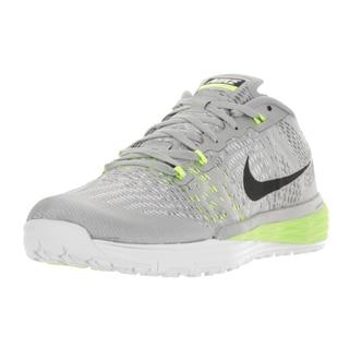 Nike Men's Lunar Caldra Metallic Silver/Blk/White/Vlt Running Shoe