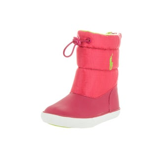 Polo Ralph Lauren Toddlers Pink Plastic Mid-calf Boot