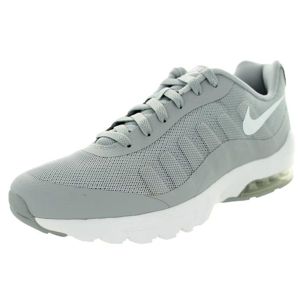 Shop Nike Men's Air Max Invigor Wolf GreyWhite Running Shoe