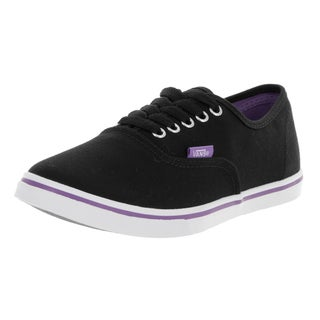 Vans Unisex Authentic Lo Pro (Pop) Black/Aster Purple Casual Shoe