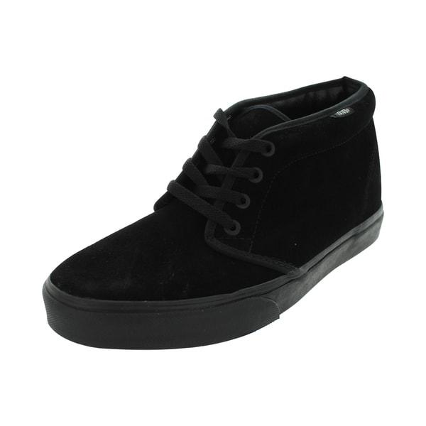 Constituir Mandíbula de la muerte Disfraz  Shop Vans Chukka (BLACK/BLACK) Boot - Overstock - 13394935