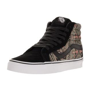 Vans Unisex Sk8-Hi Reissue (Moroccan Geo) Black/Ivy Skate Shoe