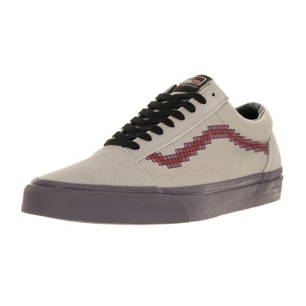 6d73cdfe59 Shop Vans Unisex Old Skool (Nintendo) Console Dove Skate Shoe - Free ...