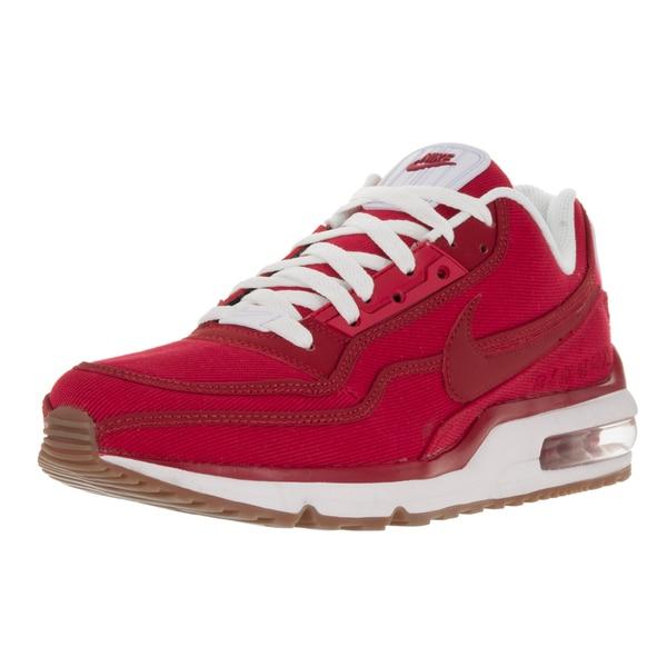 Shop Nike Men's Air Max LTD 3 TXT Gym RedGym RedWhtGm Md